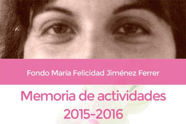 Memoria de actividades 2015-2016