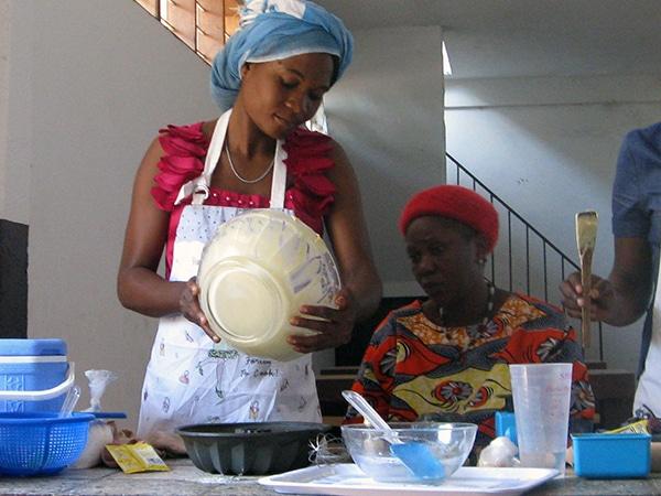 Escuela de hostelería en Mbanza-Ngungu