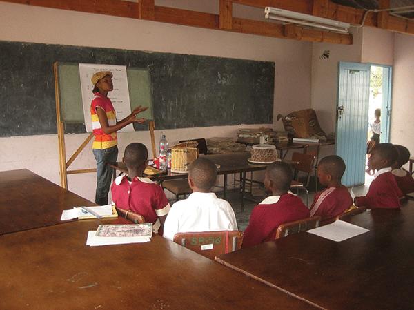 Escuela en Zimbabwe