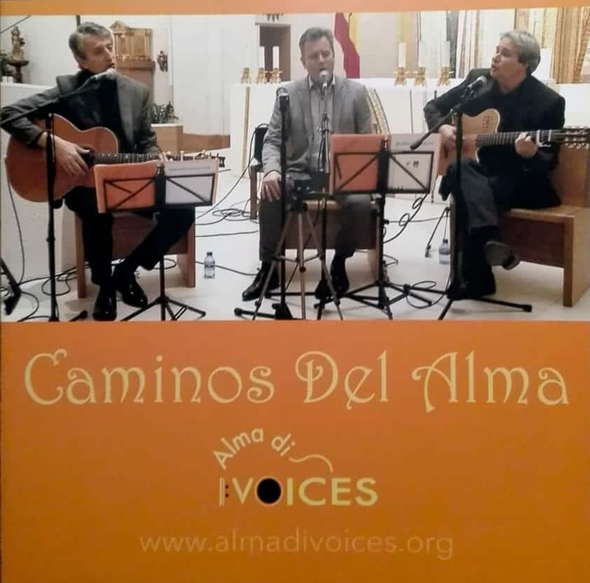 Portada del disco de Alma di Voices