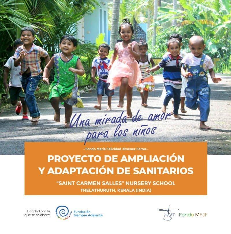 Proyecto de ampliación y adaptación de sanitarios