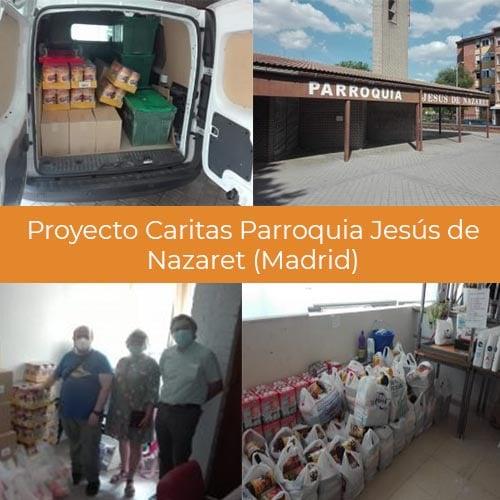 Proyecto Caritas Parroquia Jesús de Nazaret (Madrid)
